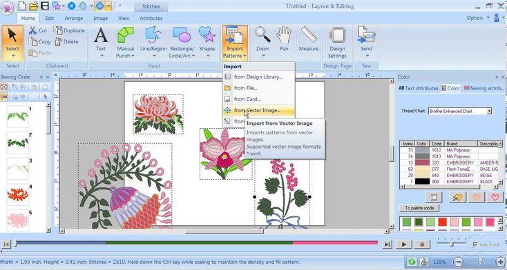 IMPORT tutorial PE Design NEXT from Carol Price