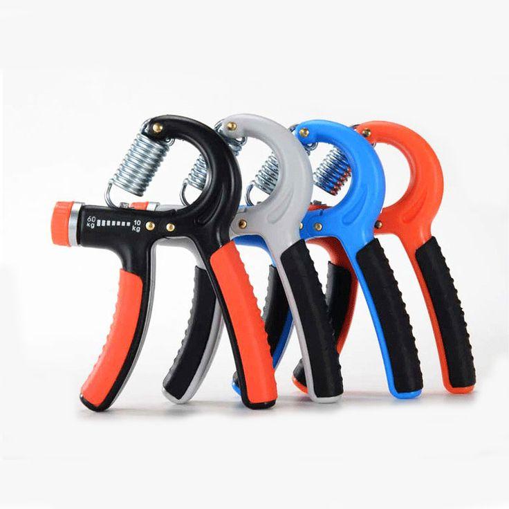 10-40 кг рукоятки регулируемая Фитнес Силовые Тренировки Тренажерный Зал Спорт Рукоятки рычага наручные здание expander Мышцы рук захват #shoes, #jewelry, #women, #men, #hats, #watches, #belts