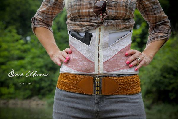 Conceal Carry SLIM Blondie CREAM/ROSE   Dene Adams