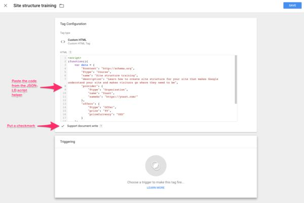 Learn about Adding JSON-LD structured data with Google Tag Manager http://ift.tt/2s8Qiy9 on www.Service.fit - Specialised Service Consultants.