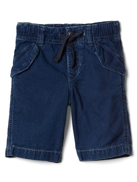 Gap Baby Pull-On Skate Shorts Dark Indigo Size 18-24 M