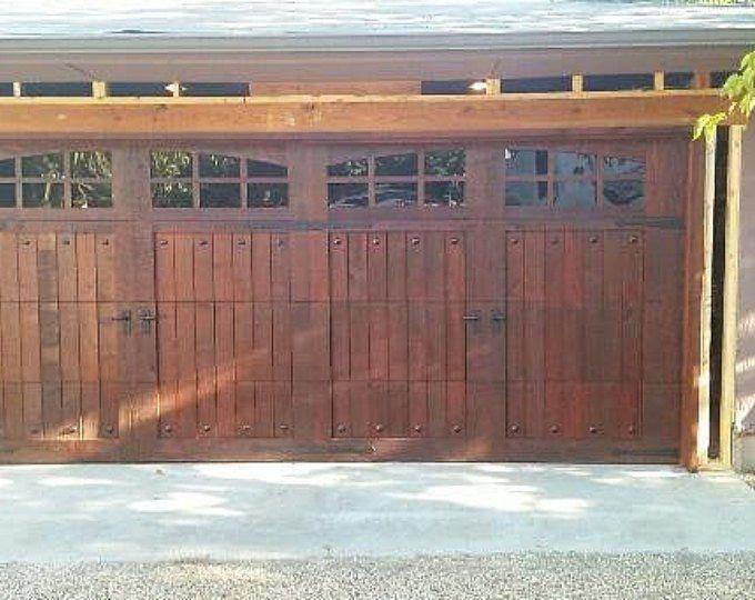 27 Best Garage Design And Decoration Ideas In Managing Your Storage Garage Door Decor Wooden Garage Wooden Garage Doors