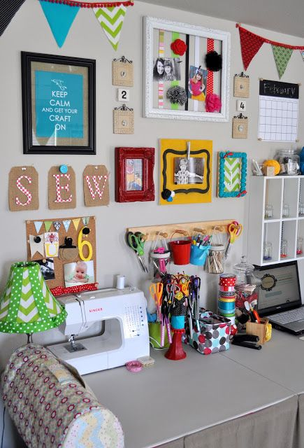 sewing room / reading room:)