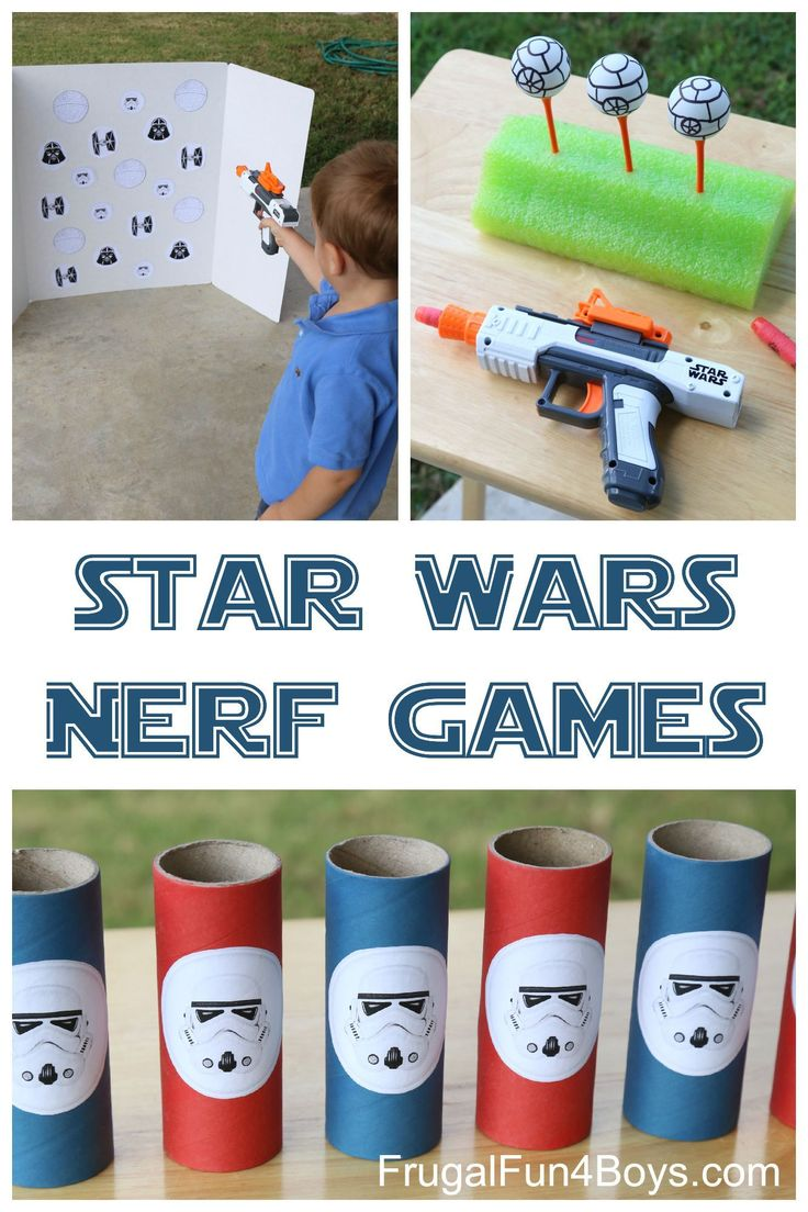 Three Star Wars themed Nerf games - these would be great for a party, or for a rainy day.