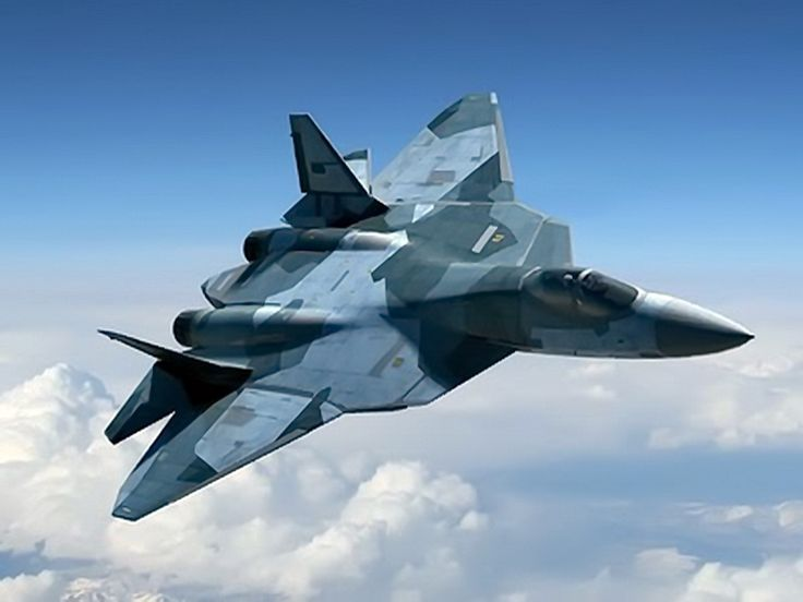 """Deadly  Russian Sukhoi T50 PAK FA 