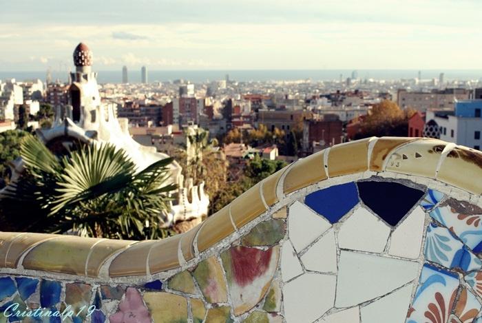 Park Güell  #Barcelona #Spain #Espana #Cielo #Gaudi