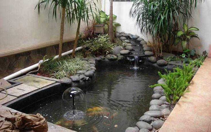 Jardines con estanques minimalistas hogar deco for Estanque jardin pequeno