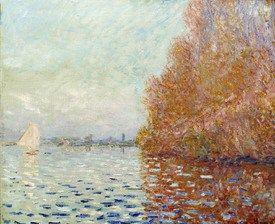 Monet Bilder Flusslandschaft