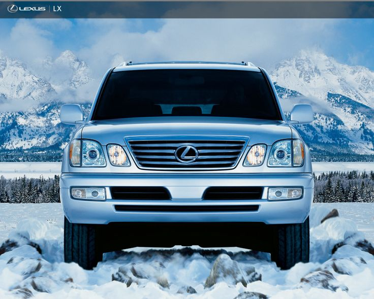 lexus 470 lx 2008