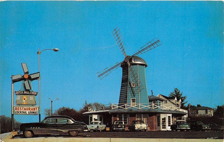 C69/ Annapolis Maryland Md Postcard 1957 Chrome Dutch Windmill Restaurant Price   eBay