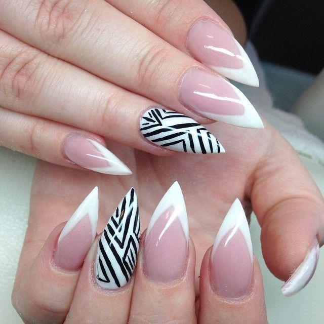 how to grow stiletto nails