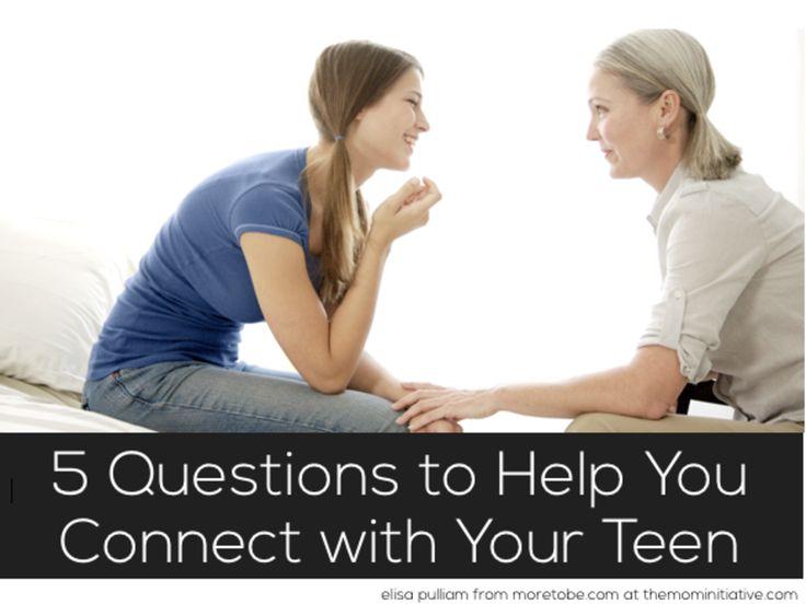Help questions teen