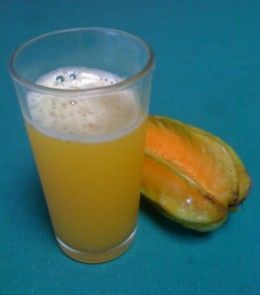 Carambola or starfruit drink - a simple drink to make and very refreshing.
