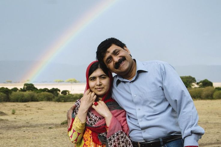 As Malala's proud father, I call on all men to respect and empower girls and women. Pass it on – #LeanInTogether