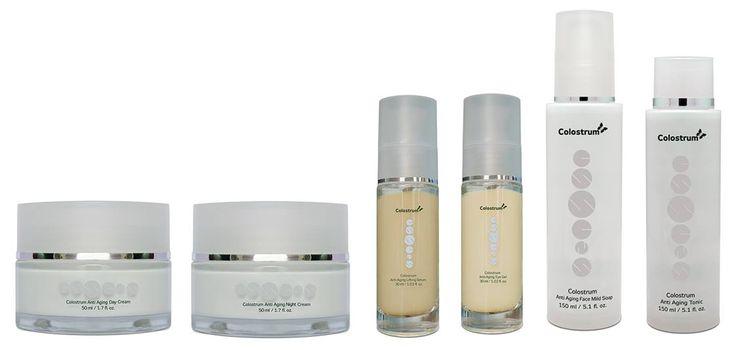 Tělová kosmetika s colostrem a pleťová kosmetika Colostrum+ I  Přídavek colostra pomáhá hydratovat a regenerovat buňky pokožky, zpomalovat její stárnutí, chrání svrchní část pokožky před celodenním působením nepříznivých vnějších vlivů a v neposlední řadě napomáhá k odstraňování kožních defektů. Účinek kosmetických přípravků obsahujících colostrum lze účinně podpořit současným užíváním colostra ve formě potravinového doplňku -  http://essensclub.cz/essens-produktova-rada-colostrum/