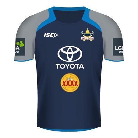 North Queensland Cowboys Training T-Shirt 2017