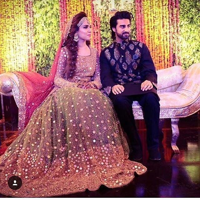 Wow just awesome couple #dulhaanddulhan
