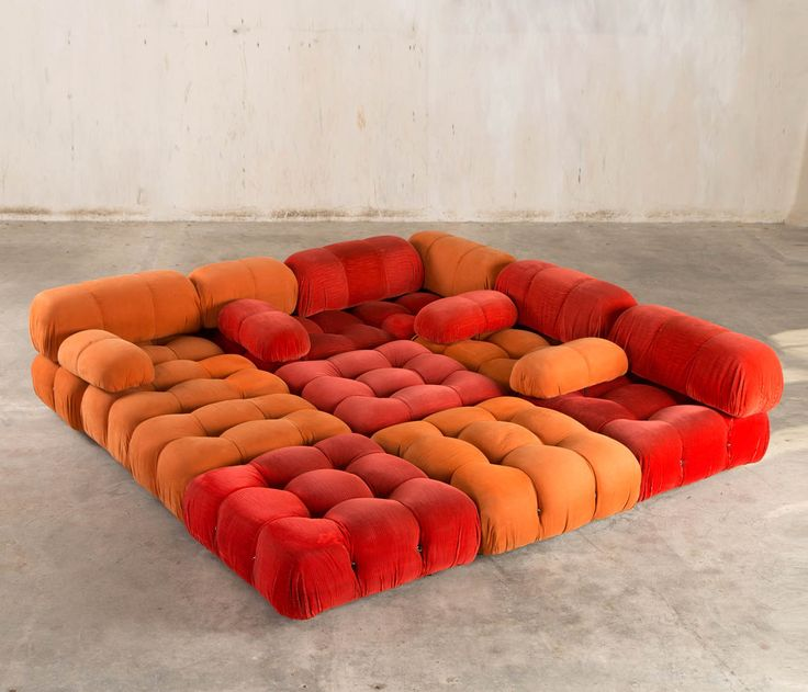 'Camaleonda' Modular Sofa by Mario Bellini for C&B Italia, 1970's | From a unique collection of antique and modern sectional sofas at http://www.1stdibs.com/furniture/seating/sectional-sofas/