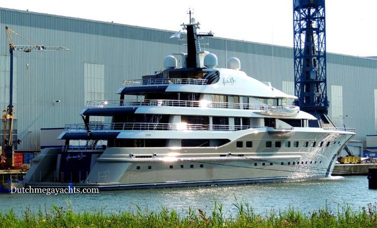 Alexander Djaparidze yacht