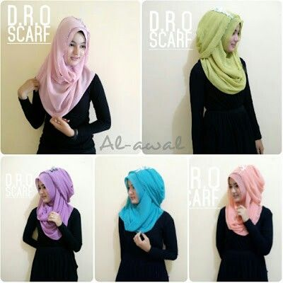 Jilbab Instant Al-awwal Yg lg di hunting nih gaes Hijab elegant bisa dipakae ke pesta /kondangan.... Tetep anggun tanpa ribet berjam2 cm berjilbab cntik. . . Banyak pilihan wrna Admin: 2B0A67A1 081329469999 @dro.fashion www.drofashion.blogspot.com