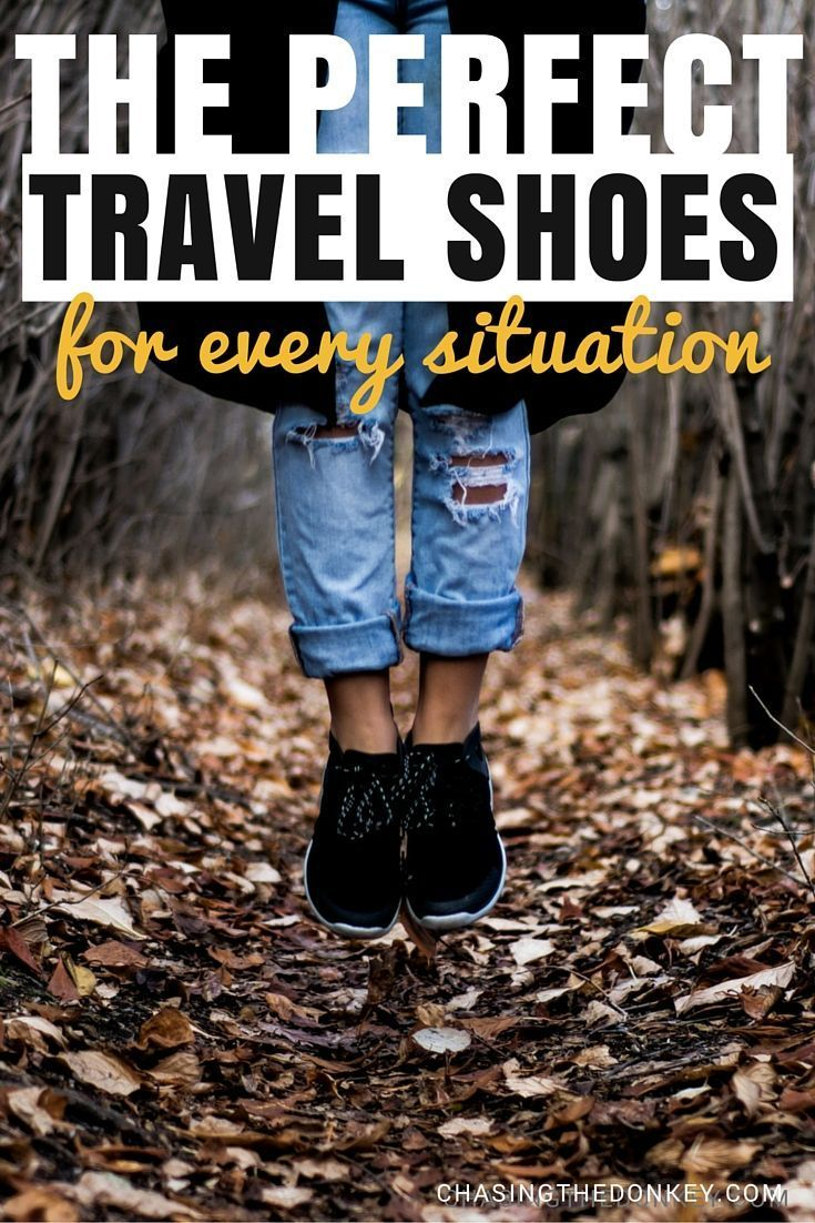 We've found the best travel shoes for every situation. Cold, rainy, sunny and even those for walking that look stylish. See them here..