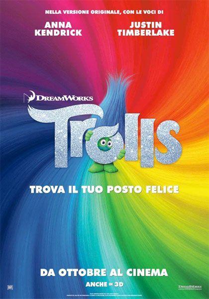 TROLLS STREAMING FILM HD ITALIANO 2016              Dai creatori di Shrek, arriva TROLLS, una nuova commedia musicale che porta sul grande...