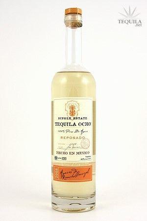 Ocho Tequila Reposado - Tequila Reviews at TEQUILA.net