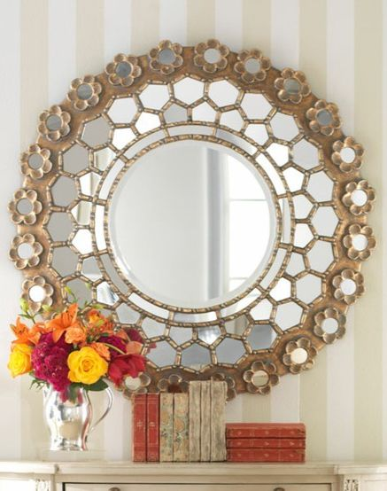 we want this glam mirror in our entryway