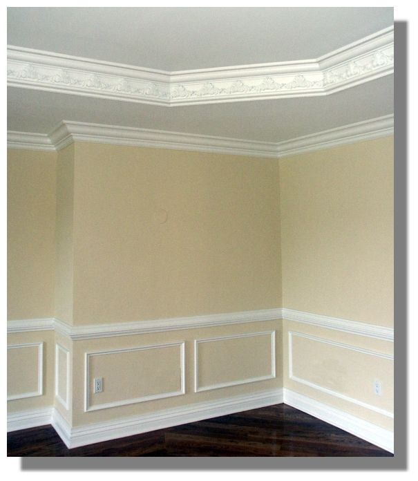 Dining Room Molding: Dining Room With Molding