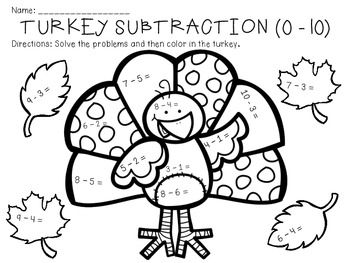math worksheet : 59 best rekenkleurplaten images on pinterest  maths puzzles  : Thanksgiving Addition And Subtraction Worksheets