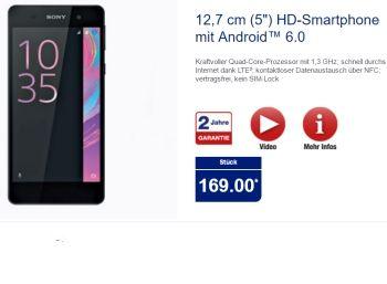 Aldi-Nord: Sony Xperia E5 ab 10. November für 169 Euro https://www.discountfan.de/artikel/tablets_und_handys/aldi-nord-sony-xperia-e5-ab-10-november-fuer-169-euro.php Mit dem Sony Xperia E5 ist bei Aldi-Nord ab Donnerstag nächster Woche ein LTE-Smartphone mit zehn Euro Guthaben für Aldi-Talk zum Schnäppchenpreis von 169 Euro zu haben – die Vergleichspreise im Netz beginnen bei 179 Euro. Aldi-Nord: Sony Xperia E5 ab 10. November für 169 Euro (Bild: Ald... #Androi