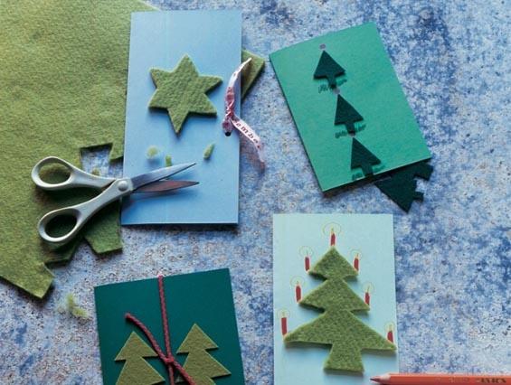 weihnachtskarte mit kindern basteln basteln karten. Black Bedroom Furniture Sets. Home Design Ideas