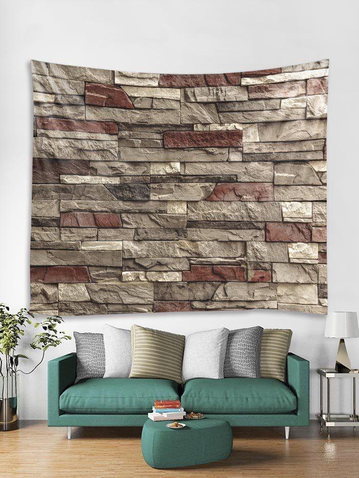 Brick Wall Print Tapestry Wall Hanging Art Decor Tapestry Wall