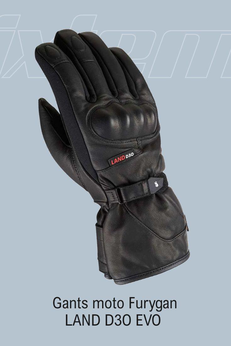 #gant #moto #furygan La force d'un classique est aussi de savoir se renouveler pour durer. Avec une nouvelle coque en D3O plus ergonomique, un système anti-twist pour la doublure, l'adoption du Thinsulate et une manchette allongée, le gant moto Furygan LAND D3O EVO repousse une nouvelle fois les limites du genre...