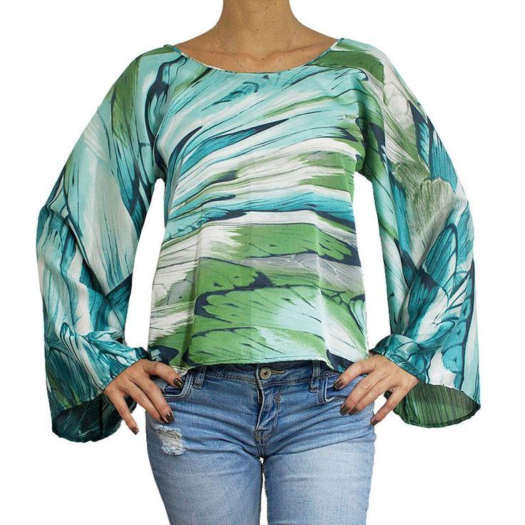 Camisa Marieta Mariposa by Agridulce