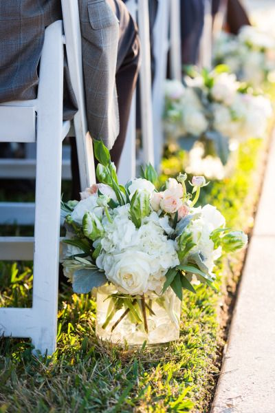 Ceremony flowers: http://www.stylemepretty.com/texas-weddings/austin/2015/03/03/chic-lakeside-wedding-at-vintage-villas/ | Photography: Cory Ryan - http://www.coryryan.com/