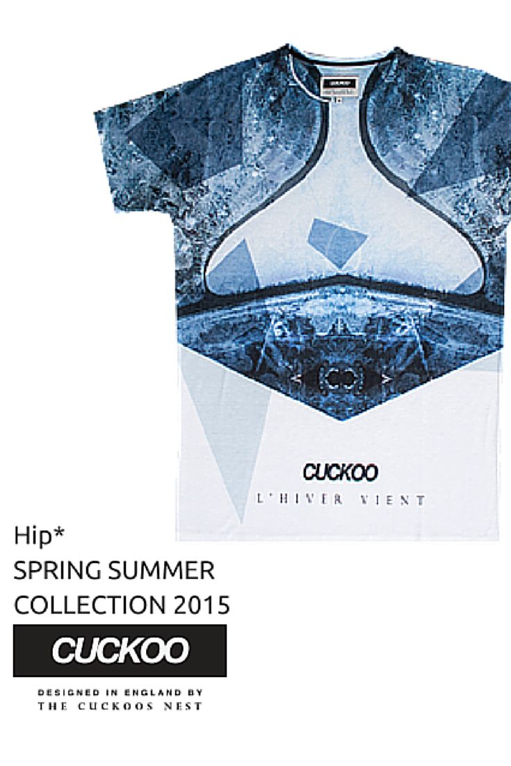 Men's T-Shirts - Glacier #Hip #Hipyourtshirts #Hipyourstyle #Tshirts #Sweatshirts #Thecuckoosnest #Cuckoo #Cuckoos #SS_15 #New #Collection #Spring #Summer #Mens #Fashion #Style #Art