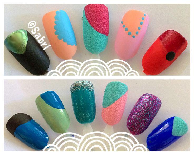 My new #naildesigns using #sinfulcolors SCKANDEE, #sugar and #vintagematte. #geometric #dots #glam #bling #boldcolor #simplicity #nailart. #Nails #Uñas #Unghie #Ongles #Unhas #Nailpolish #Esmalte #Smalto #Émail. #Beauty #Belleza #Bellezza #Beauté #Beleza #Cosmetics #Cosméticos #Cosmetici #produitsdebeaute #fabat40.