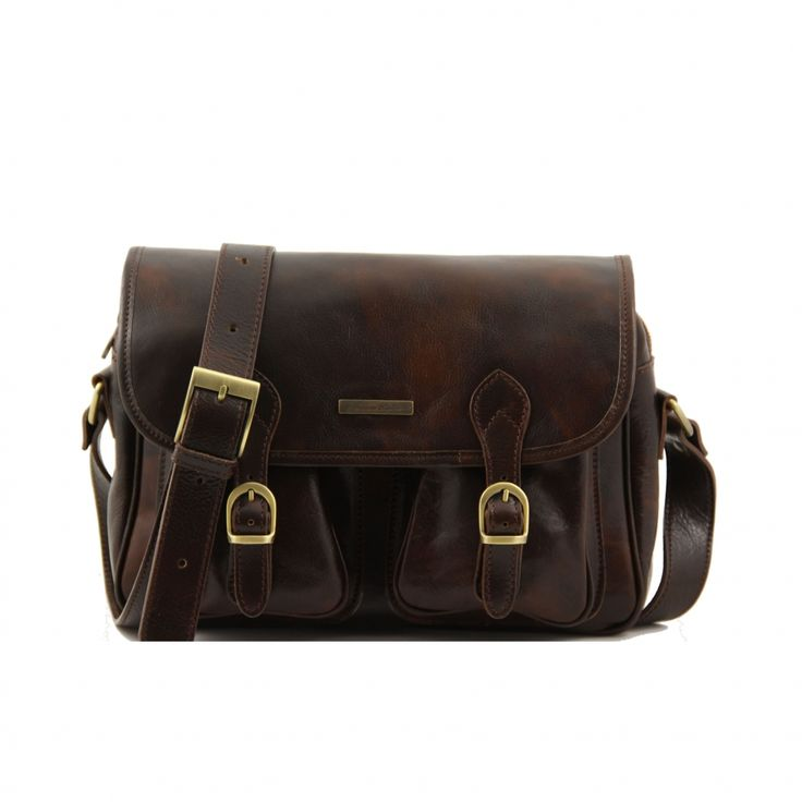 The ideal professor bag for men! A spacious dark brown leather satchel for men | Men's Quality Bags | Swedish Mens Shirts and Suits At indumenti
