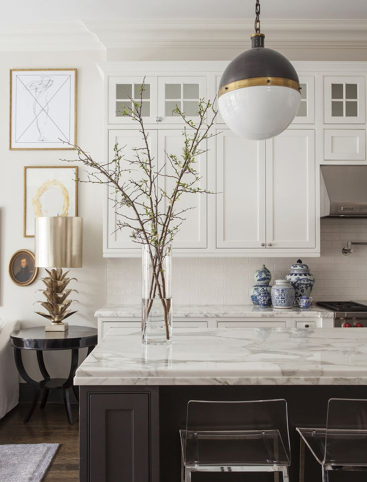 beautiful classic contemporary or new-trad kitchen