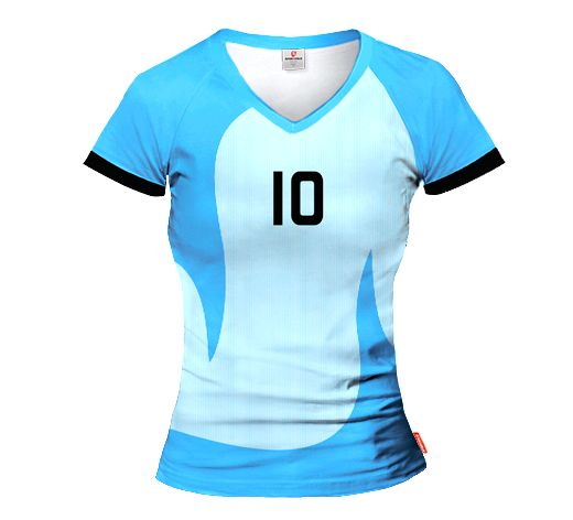 ACTIVE 2014/15 Volleyball Women's Jersey With Custom Name And Number in National Colors