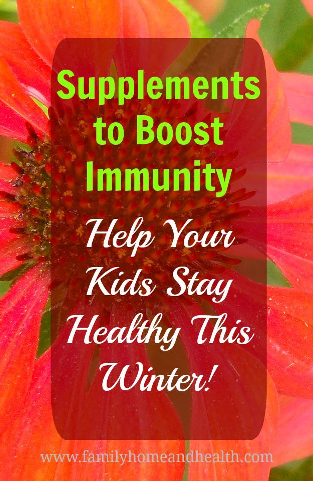 Does it seem like you and your kids are always catching colds or other sicknesses?  Do you go to the doctor a lot, but still feel your family could be healthier?   Find out which supplements can boost immunity and help you to stay healthy!