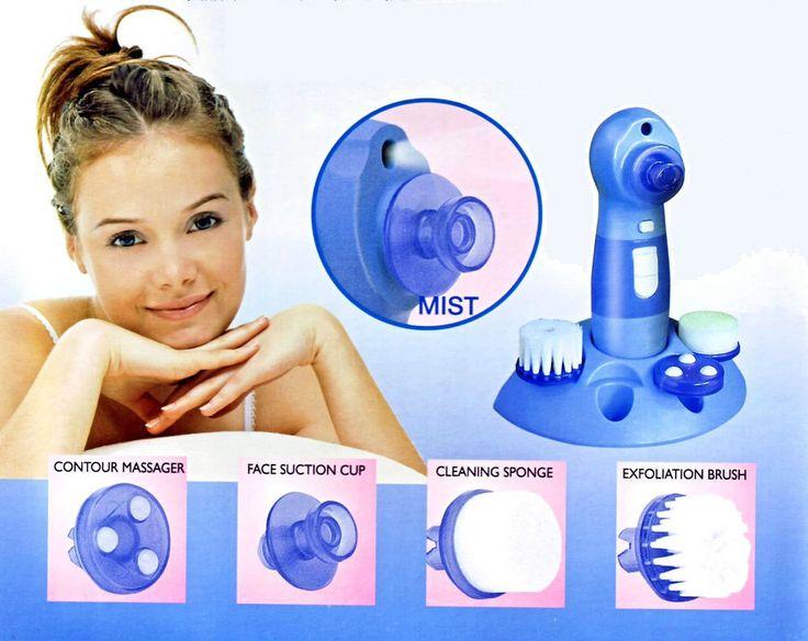 beauty skin kit per la pulizia della pelle del viso con aspira punti neri