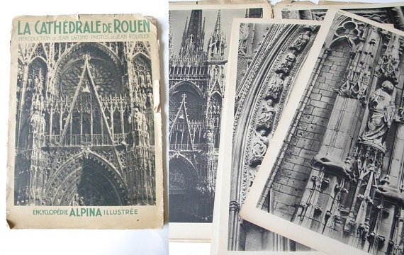 french cathedral book french cathedral ephemera by thehopetree, $28.00