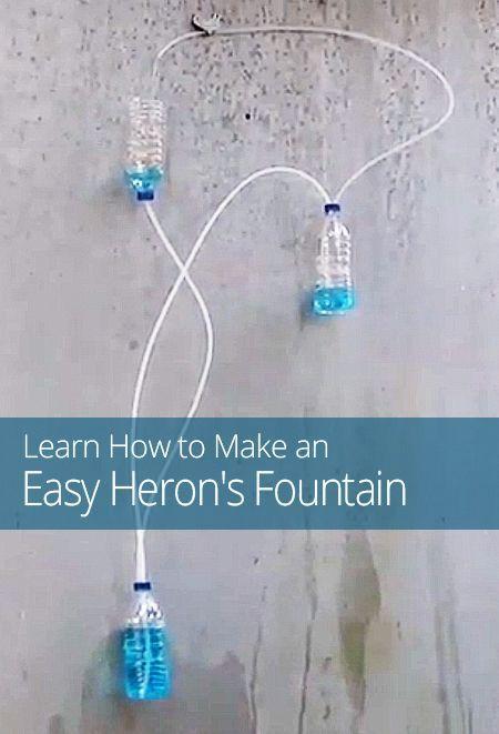 How to Make an Easy Heron's Fountain