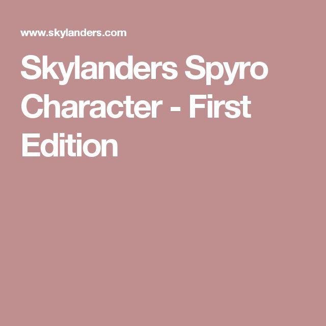 Skylanders Spyro Character - First Edition