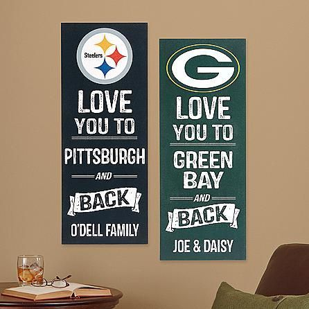 Nfl Sports Wall Plaque   Valentines Day Gifts For Husband
