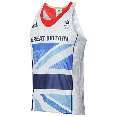 Adidas London 2012 Team GB Running Vest - Watersports Market - the largest watersports shopping destination