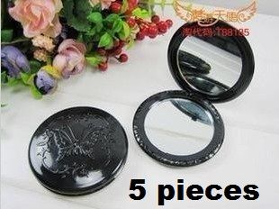 5 piece lot Round butterfly Anna sui compact dual mirror great for diy | chriszcoolstuff - Craft Supplies on ArtFire