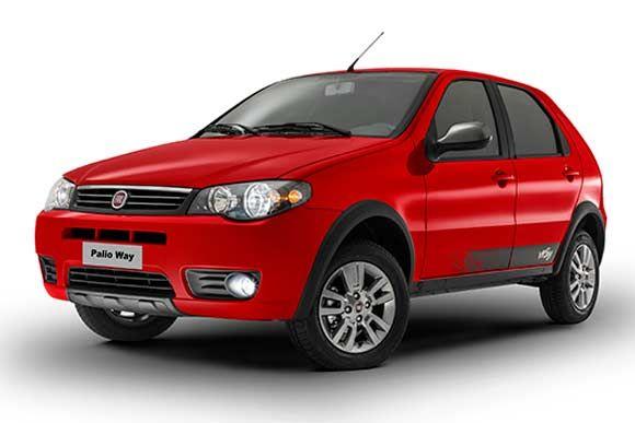 Ficha técnica do Fiat Palio Fire Way 1.0